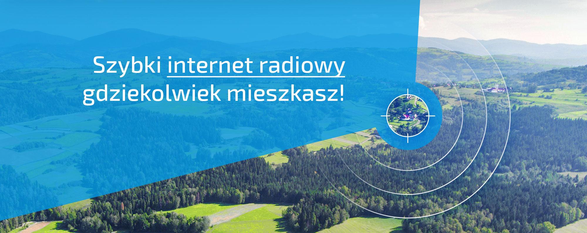 internet radiowy Nowy Sącz, Kamionka Wielka, Bodusza, Królowa Górna, Królowa Polska, Chełmiec, Biegonice, Biczyce